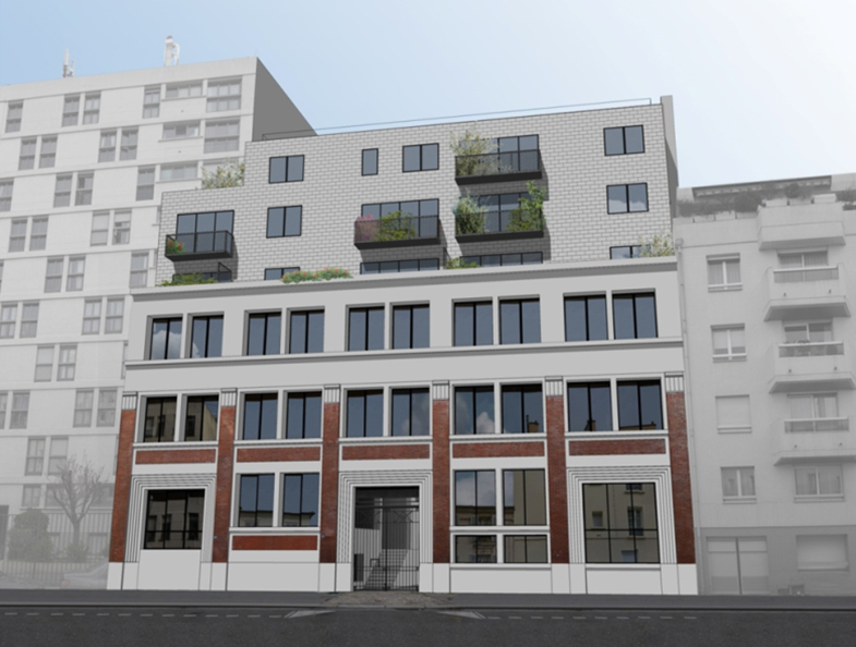 Surélévation et reconversion d un immeuble de bureaux en logements